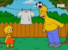 Homer lisa jogam bola paz