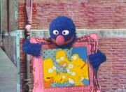 Grover & The Simpsons
