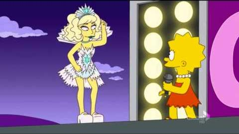 Lady Gaga feat. Lisa Simpson - You're superstar