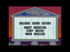 Norm MacLeod in ending credits