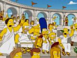 Roman Colosseum couch gag