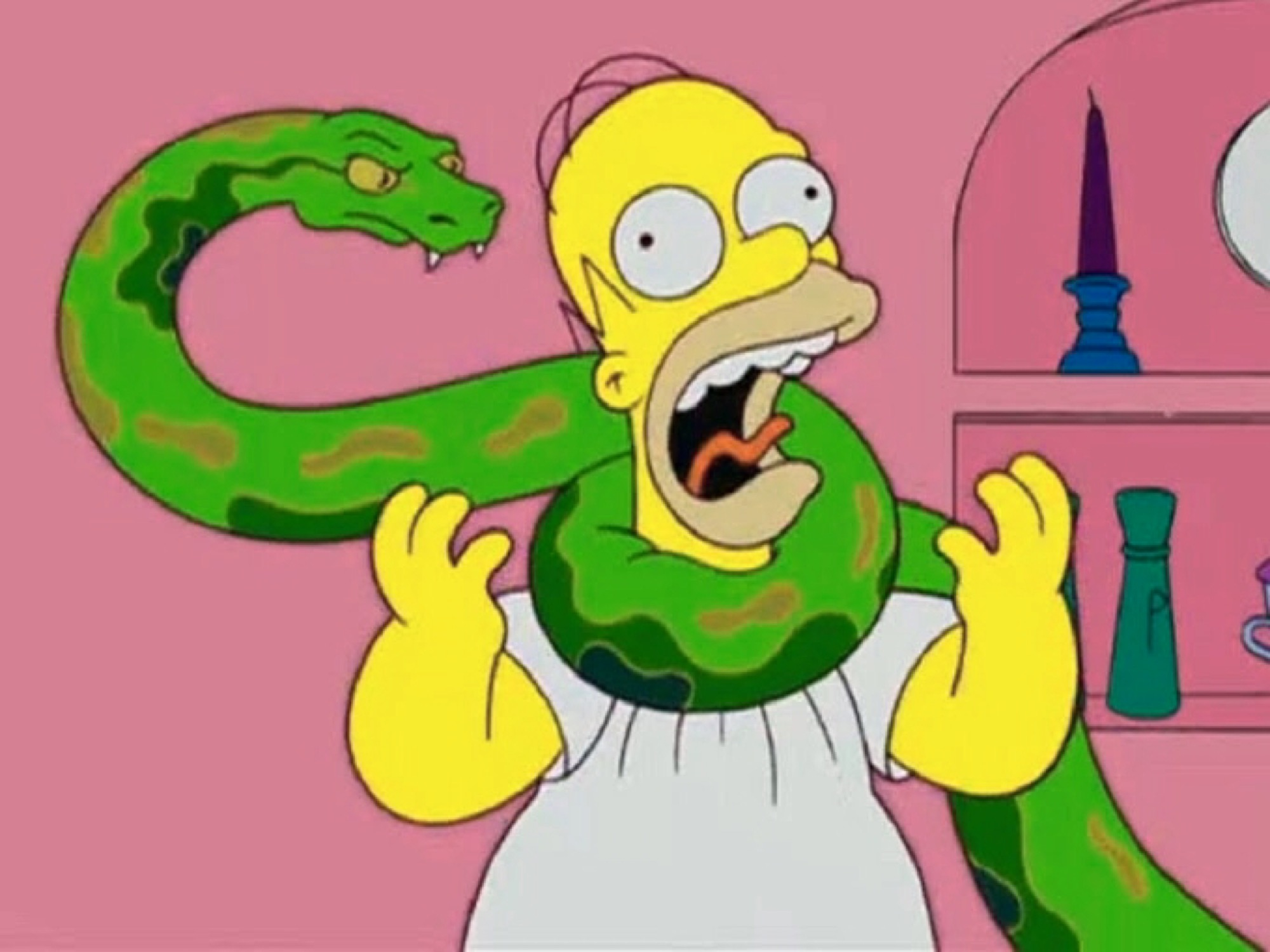 The simpsons got snake-24340