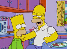 Bart com barba
