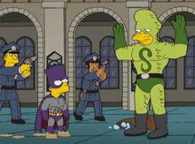 Bartman serpente policiais