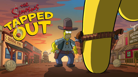 Dziki Zachód The Simpsons Tapped Out