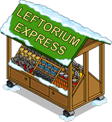 Leftorium Express Tapped Out