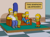 636th Episode Celebration couch gag