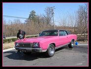 1979 Pink Car