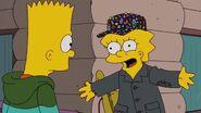 Lisa acts psychotic