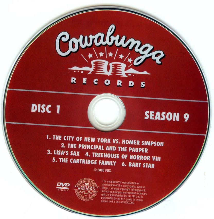 Disc 1 dvd