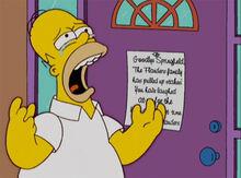 Homer chora flanders adeus