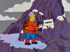 L'Abominable Homer des neiges