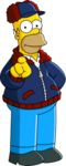 Mr Plow Tapped Out