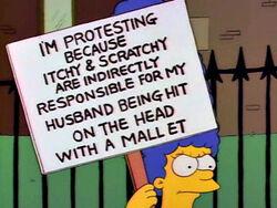 Zdrapek Poharatka i Marge