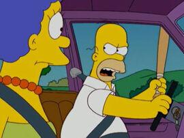 Homer fúria bastão carro avat1 18x11