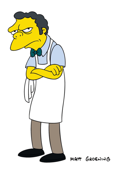 Image result for moe szyslak broke