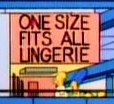 One Size Fits All Lingerie