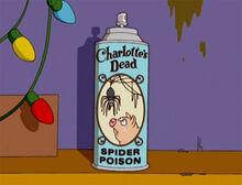 Veneno aranha charlotte