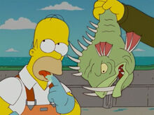 Homer prova peixe slarg 1