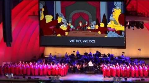 Stonecutters - We Do @ The Simpson take the Hollywood Bowl~