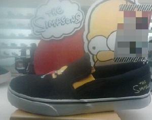 Tênis The Simpsons 1