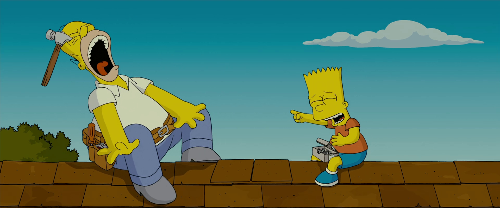 The Simpsons Movie Review By Redheadxilamguy On Deviantart