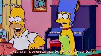 -I Simpson- Homer Simpson - Do The Message (Sub Ita)