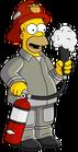 Fireman Homer Unlock