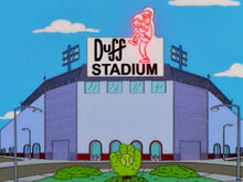 Estadio beisebol duff