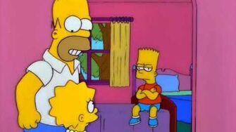 Homer Sings Odd Couple Theme