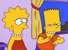 Lisa bart ardiloso desonesto