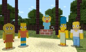 Minecraft - Simpsonowie