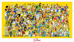 Simpsons Cast Poster (Giant)