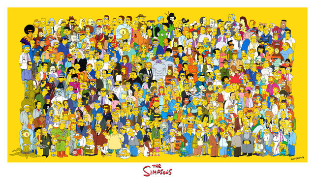 File:Simpsons Cast Poster (Giant).jpg