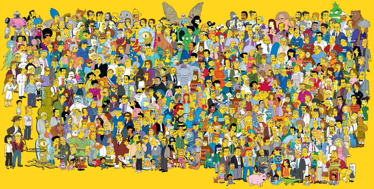 All the Simpsons - updated