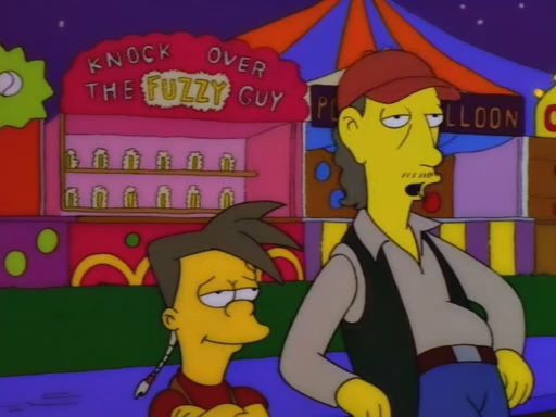 Image result for simpsons carnies