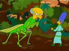Burns mantis marge cleriga