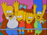 Rollercoaster couch gag