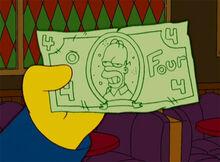 Dinheiro do homer