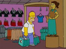Homer aborrecido loja 18x18