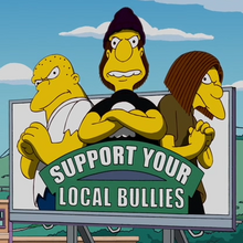 Support Your Local Bullies