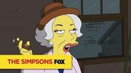 "THE SIMPSONS A Lady Of The Night from ""Lisa with an 'S"" ANIMATION on FOX"