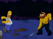 Homer Willie digging