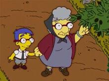 Milhouse nona sofia azeitonas