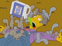 Skinner vingança veneno esquilos