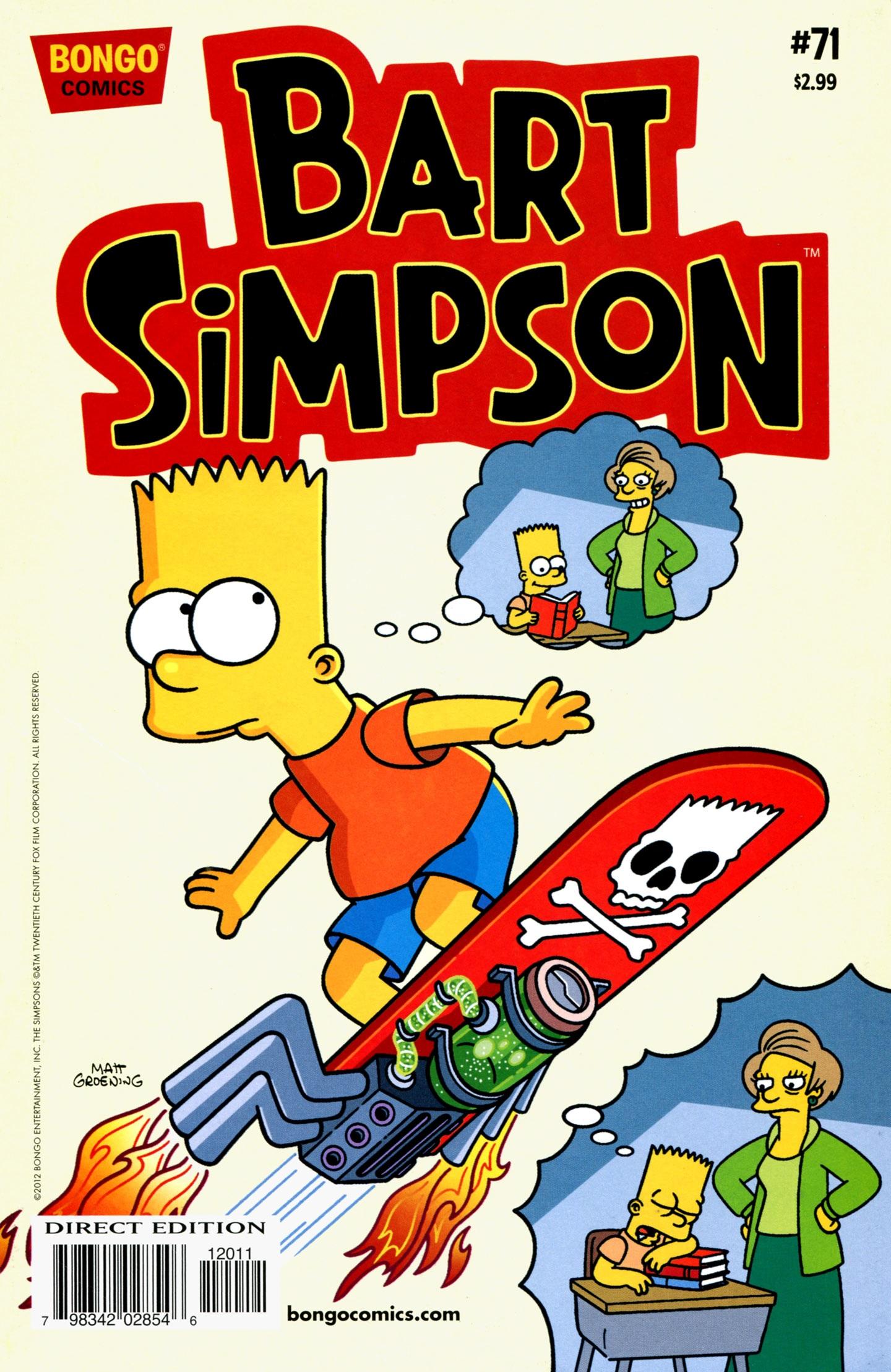 bart simpson comics 71 | simpsons wiki | fandom poweredwikia