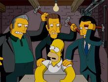 Homer gangsters martelos