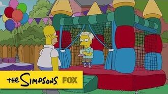 "This Party's Over Before It Started from ""Pay Pal"" THE SIMPSONS ANIMATION on FOX"
