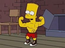 Bart bartman musculoso