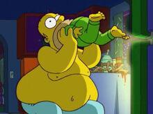 Homer engolindo bart thoh17